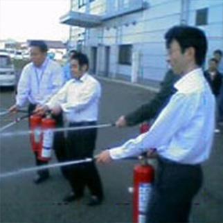 水消火器放水
