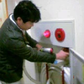 屋内消火栓操作