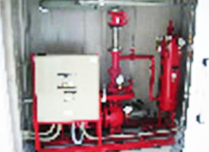 消火ポンプ室