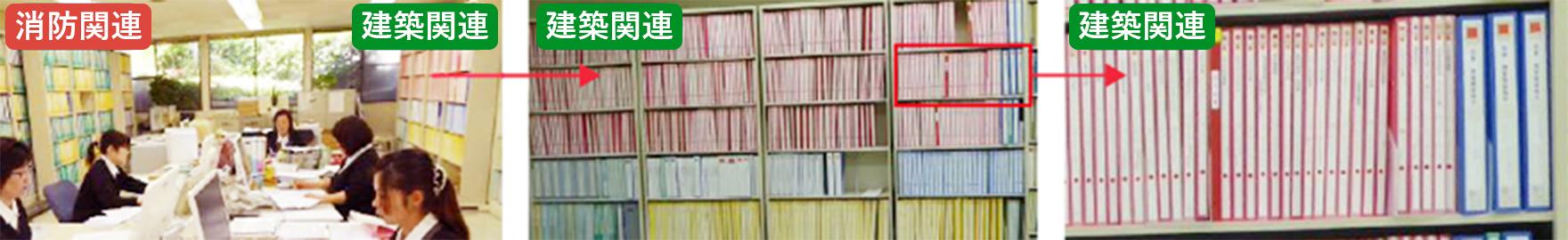 建築関連報告書・管理キャビネット