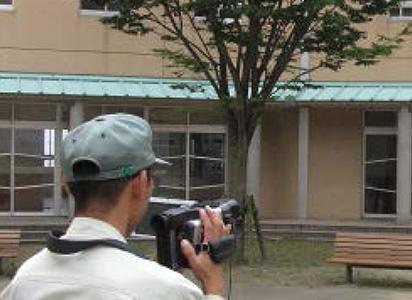 外線カメラで測定
