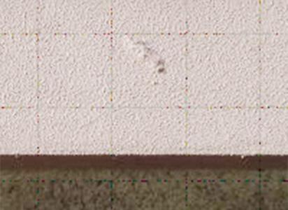 外壁塗装ふくれ
