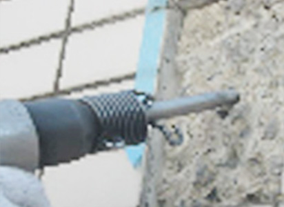 磁器タイル補修